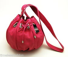 MIMCO SMALL COCOON LEATHER BAG IN HOT PINK BNWT RRP$349