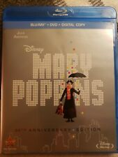 Disney's Mary Poppins (50th Anniversary) (Blu-ray,Dvd 2-Disc set)