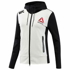 Women's Cain Velasquez UFC Fight Night Walkout Reebok Full Zip Hoodie Jacket NWT