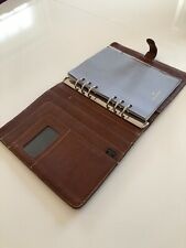 Stunning Mulberry Planner Filofax In Oak Natural Vegetable Tanned Leather