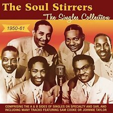 Singles Collection 1950-61 - Soul Stirrers (2016, CD NIEUW)2 DISC SET