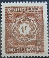 ALGERIE Taxe 37 - Neuf** sans charniere - Regroupez vos achats