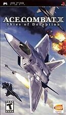 Ace Combat X Skies of Deception (Sony PSP, 2006)