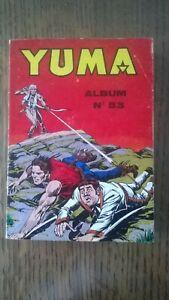 ALBUM YUMA N°53 LUG 1980 TBE (209-210-211-212)