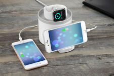 3 Ports Charger Dock Desktop Charging Station For Apple Watch Iwatch iPhone
