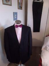 """BALMAIN Men's Brown/Black Stripe 2PC Suit C46"""" Long W40"""" L33"""" Contemporary Fit"""