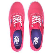 Vans Authentic Lo Pro (Pop) Rose Red/Purple Iris-Women's Sk8 Shoe Size 7.5 NWB