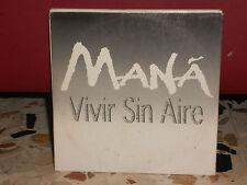 MANA'-VIVIR SIN AIRE - cd singgolocardsleave - PROMOZIONALE 2001