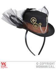 Steampunk Mini Top Hat Victorian Era Fancy Dress Costume Outfit Accessory