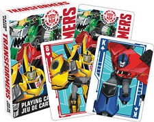 Transformers Playing Cards Deck (Robots in Disguise) Brand New Sealed