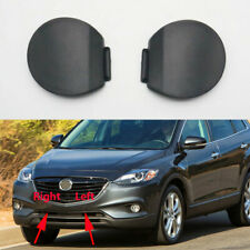 Pair Front Bumper Grille Tow Hook Cover For Mazda CX-9 CX9 2013-2015