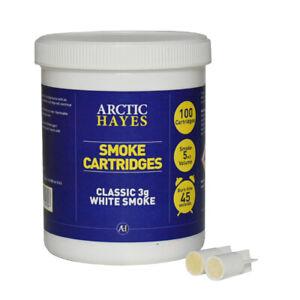 3g White Smoke Cartridges (100)