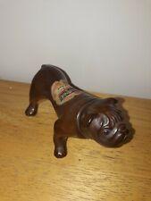 Vintage Rynbende Ceramic Cherry Brandy Bull Dog