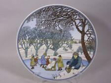 V&B/ Heinrich Porzellan Sammelteller Winter, ca. 24,5 cm Ø    5T2376