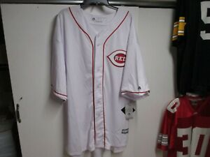 CINCINNATI REDS (JOEY VOTTO #19) BASEBALL JERSEY (4XL) BY MAJESTIC NWT $100 HOME