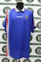 Maglia calcio FRANCIA DJORKAEFF TG XL 1994 shirt trikot maillot camiseta jersey