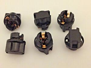 """Fits BMW 3/8"""" Instrument Panel Sockets 9mm Cluster Plug Lamp Dash Light Bulb LED"""
