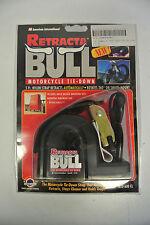 Retracta-Bull Motocicleta Tie-Down-Correa de 5 pies