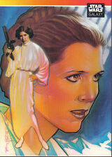 Star Wars Galaxy Séries un Promo de Princesse Leia