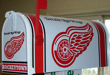 DETROiT RED WiNGS  CUSTOM MAiLBOX jersey~hats