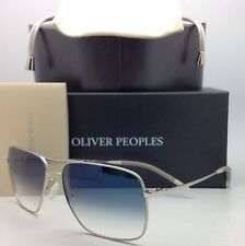 NEW OLIVER PEOPLES PHOTOCHROMIC Sunglasses CLIFTON OV 1150-S 5036/3F Silver/Blue