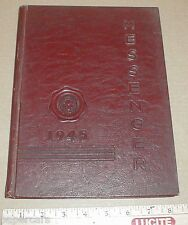 1945 Durham High School yearbook North Carolina NC County Pepsi Coke vintage Ads