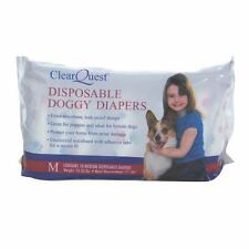 Disposable Doggie Diapers Dog Diaper Absorbant Sanitary - Bulk Packs Available