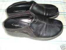 CABIN CREEK black slip on leather loafer sz 6.5M