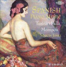 Spanish Piano Music: Falla, Turina, Mompou, New Music