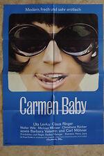 (P159) KINOPLAKAT Carmen Baby (1967) Uta Levka, Claus Ringer