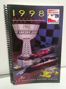 1998 Pep Boys Indy Racing League Official Media Guide Fact Book M 147