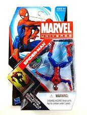 Spider- Man Vhtf ( Upside-Down Variant ) Marvel Universe Action Figure #007