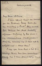 1924 Remarkable letter PRIME MINISTER Ramsay Macdonald, Russian Treaty , Ireland