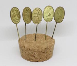 Olympics Tokio 1964 Olympic Games 5 X PIN'S Of Pins Pin Metal Ref2