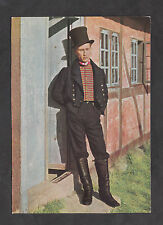 c1970s View: Man from Odense in Traditional Costume, Denmark