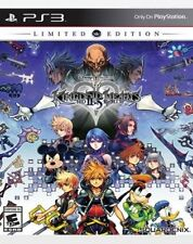 Kingdom Hearts HD 2.5 ReMIX Limited Edition PS3 New Ships In A Box w/ Tracking
