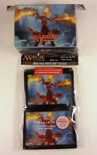 Magic 2014 - 80 Ultra Pro Sleeves + deckbox Set-Flames of Chandra