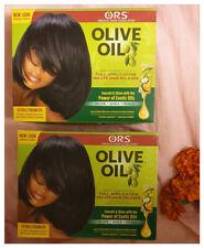 2 x ORS Olive Oil No-Lye Extra Strength Relaxer Kit - Australia stock
