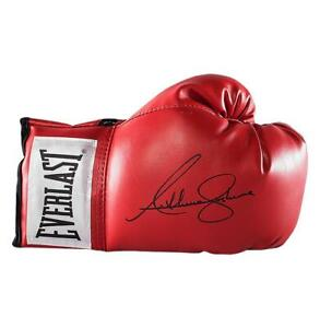 Anthony Joshua Signed Red Everlast Boxing Glove Autograph
