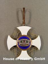 Italien: Verdienstorden von der Krone Italiens, Kommandeurkreuz (Halskreuz) Gold