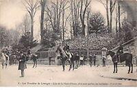 87 .n° 109077. limoges . greve 17 avril 1905 .coin de la place d orsay .