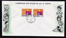 1970  No. 521p horizontal pair Winnipeg tagged unaddressed Cole cachet Christmas