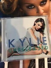 Kylie Minogue promo sticker + FREE b-sides Collection CD Kiss me Once bsides +