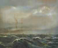 Signed Schumann - Waves And Clouds Sea Lake