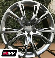 "Jeep Grand Cherokee SRT8 Spider Monkey OE Replica Wheels 20x9"" Hyper Silver Rims"