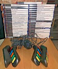 39 PS2 Game Bundle + Buzz Controllers (PAL)