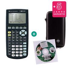 TI 82 Stats Taschenrechner Grafikrechner + Schutztasche Lern-CD Garantie