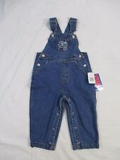 Orlando Magic NBA Reebok Youth 24 Mos Blue Denim Jeans Overalls Pants CB46B NWT