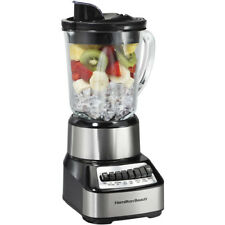 Countertop Blender Crusher 14 Speed Wave Multi-Function Silver 700-Watts 40 oz