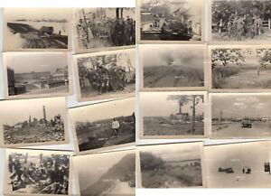16 Fotos  + Einsatz Kampf Russland Konvolut +10051